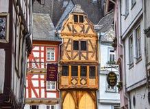 Limbourg Lahn, Γερμανία, μισό-εφοδιασμένα με ξύλα σπίτια Στοκ εικόνα με δικαίωμα ελεύθερης χρήσης