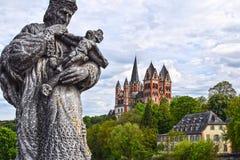 Limbourg Lahn, καθεδρικός ναός, Nepomuk Στοκ Φωτογραφίες