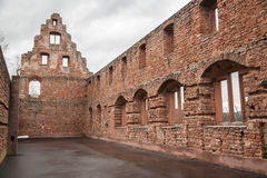 Limburg castle ruins Stock Image