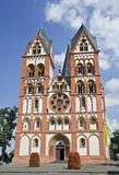 Limburg Cathedral Stock Photography