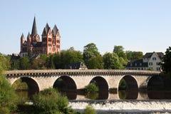 Limburg Cathedral, Germany Stock Photography