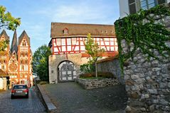 Limburg An Der Lahn city in Germany view Stock Photography