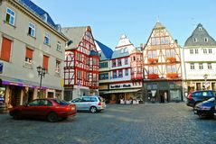 Limburg An Der Lahn city in Germany view Stock Photos
