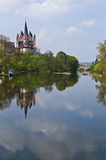 Limburg Dome. Limburg on the Lahn Dome, reflecting in the water Royalty Free Stock Photography