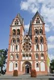 Limburg-Kathedrale Stockfotografie