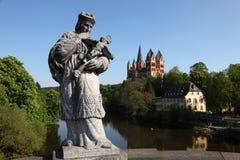 Limburg-Kathedrale, Deutschland lizenzfreie stockfotos