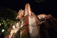 Limburger dom germany at night Stock Images