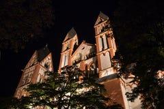 Limburger dom germany at night Stock Photo