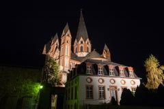 Limburger dom germany at night Stock Photography
