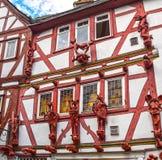 Limburgo Lahn, casa dos sete pecados mortais Foto de Stock
