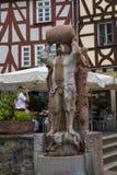 Limburgo um der Lahn Limburgo, Alemanha, Europa Fonte Imagem de Stock Royalty Free