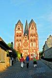 Limburgo una città di Der Lahn nella vista della Germania Immagini Stock