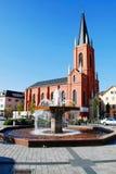 Limburgo una città di Der Lahn nella vista della Germania Immagine Stock