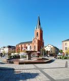 Limburgo una città di Der Lahn nella vista della Germania Fotografie Stock