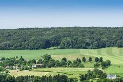 Limburgs Landschap ; Paysage de Limbourg images stock