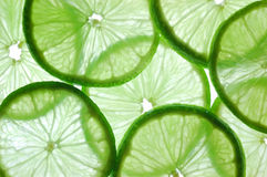 Lime. On a white back-light Stock Photo