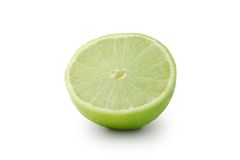 Lime. On a white background Royalty Free Stock Photos