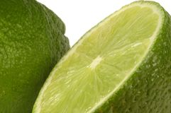 Lime. Very close image of lime with great dept of field Royalty Free Stock Images
