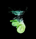 The lime Royalty Free Stock Image
