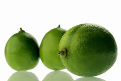 Lime. Fresh limes stock image