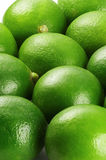 Lime. Bounch of vivid green fresh lime view from close up Stock Photo