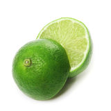 Lime. On white background. Isolated Stock Photo