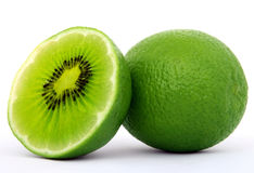 Lime And Kiwi Stock Photo