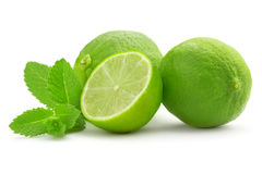 Lime And Mint Leaf