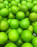 Lime. Artificial vegetable lime for home decoration royalty free stock photography