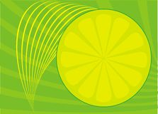 Lime Background Stock Photo