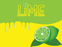 Lime Backgroung Stock Photo
