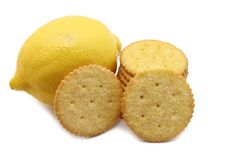 Lime biscuit Royalty Free Stock Image