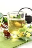 Lime blossom tea Stock Photo