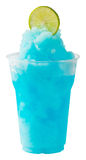 Lime Blue Curacao smoothie Royalty Free Stock Images
