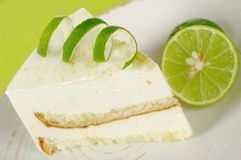 Lime Cake Stock Image