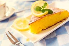 Lime Cake Stock Image