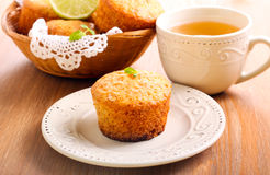 Lime cakes Stock Photography