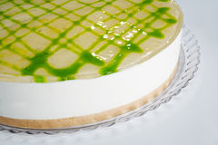 Lime cheese cake Royalty Free Stock Photos
