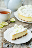 Lime cheesecake Royalty Free Stock Image