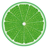Lime circle Stock Photo