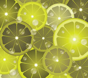 Lime circles Royalty Free Stock Images