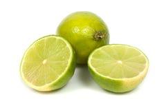 Lime  (Citrus aurantifolia) Royalty Free Stock Image
