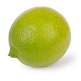 Lime (Clipping path) Royalty Free Stock Images