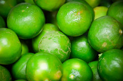 Lime. Close-up image of a group of green fresh lime Stock Photos