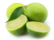 Lime closeup Royalty Free Stock Photos