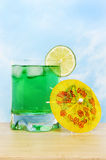 Lime cocktail Stock Image