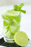 Lime cocktail Royalty Free Stock Photo