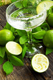Lime cocktail Royalty Free Stock Images