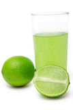 Lime coctail Royalty Free Stock Images