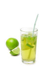 Lime coctail Royalty Free Stock Photos